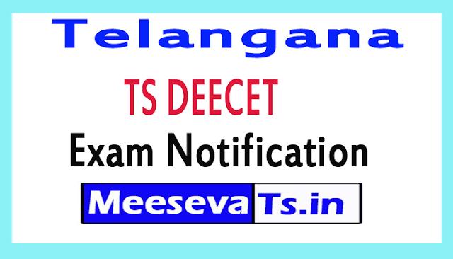 Telangana TS DEECET Exam Notification
