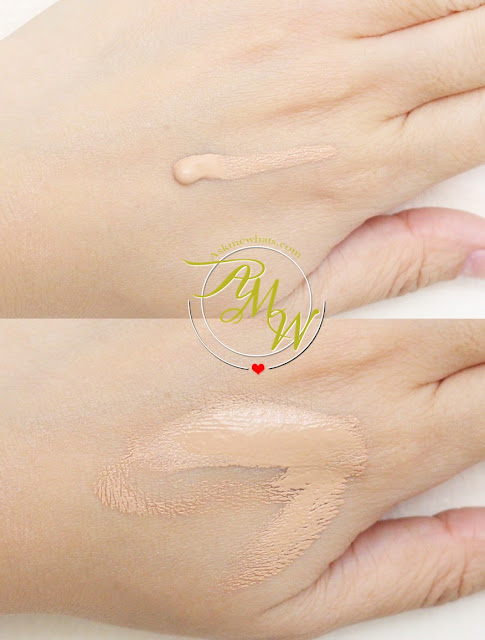 a swatch photo of Sooper Beaute Tinte Fluid Foundation with Sunblock