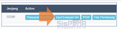 Panduan Cara Input Evaluasi Diri Aplikasi Sispena - 1