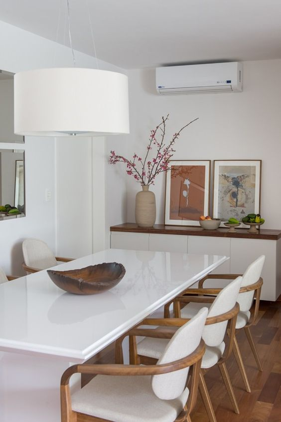 Adesivo De Geladeira Pinguim Mercado Livre ~ Decoraç u00e3o 10 ambientes em branco com madeira! Jeito de Casa Blog de Decoraç u00e3o e Arquitetura