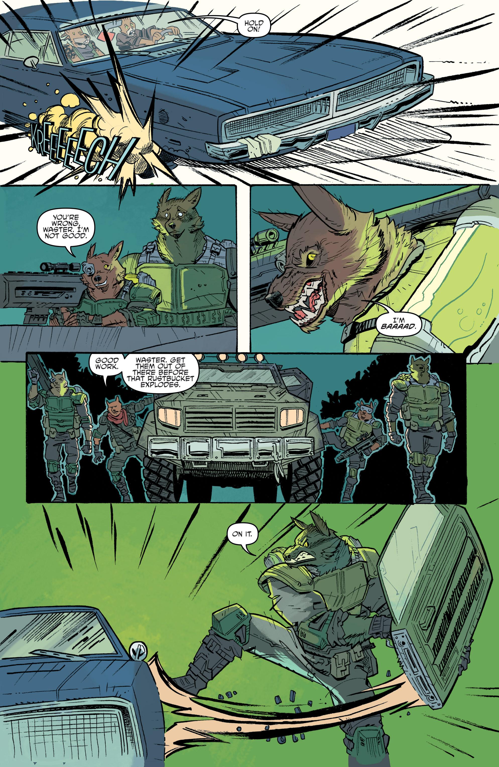 Read online Teenage Mutant Ninja Turtles Universe comic -  Issue #11 - 16