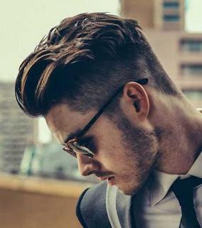 foto gambar model gaya rambut pria