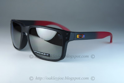 Oakley Holbrook Ruby fade Collection Prizm Black Polarized we7Ut