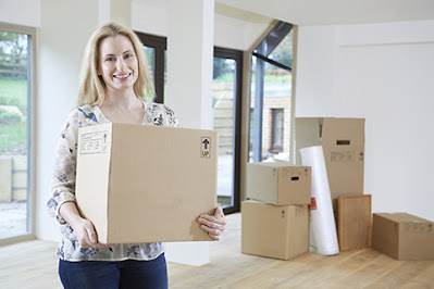 Packing and Moving a House Room by Room