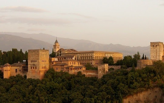 Alhambra, Andalusia, Spanyol
