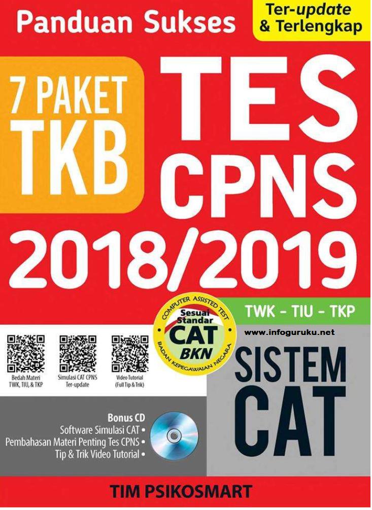 Download 7 Paket Soal Skb Tkb Tes Cpns 2018 Beserta Jawaban Infoguruku