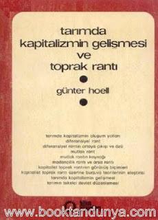 Günter Hoell - Tarımda Kapitalizmin Gelişmesi ve Toprak Rantı