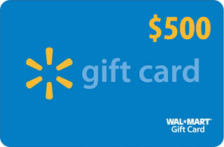 Enter the $500 Walmart Gift Card Giveaway. Ends 6/30
