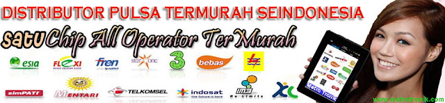 Distributor Pulsa Termurah Seindonesia
