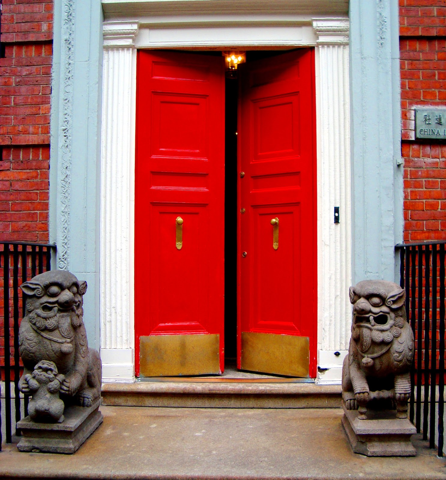 David Cobb Craig Red Doors Of The Upper East Side