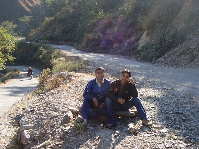 way to chakrata