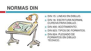Dibujo Tecnico Normas Del Dibujo Tecnico