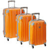 Traveler's Choice Beverly Hills Country Club Newport 3-Piece Hardside Spinner Set, Orange