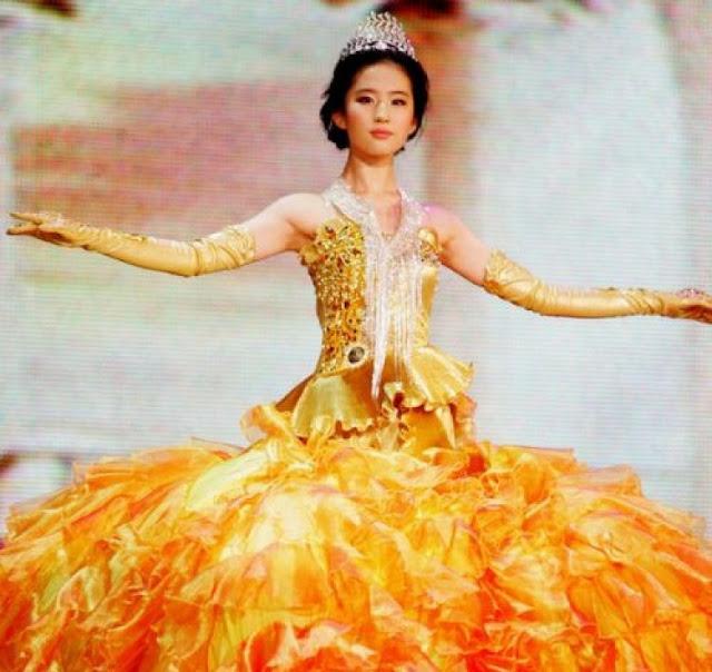 2006 Golden Eagle Goddess Crystal Liu