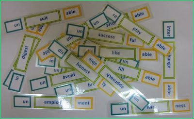 Affixes and Root Words