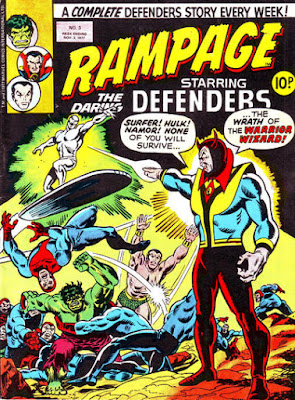Rampage #3, the Defenders