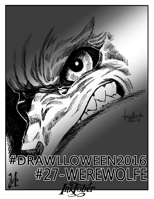 werewolfw-lucyowlart-drawlloween-inktober
