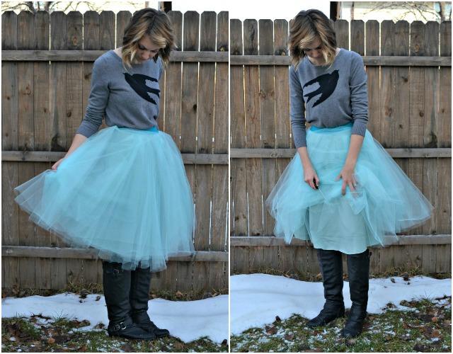Me Made: Mint Tulle Skirt