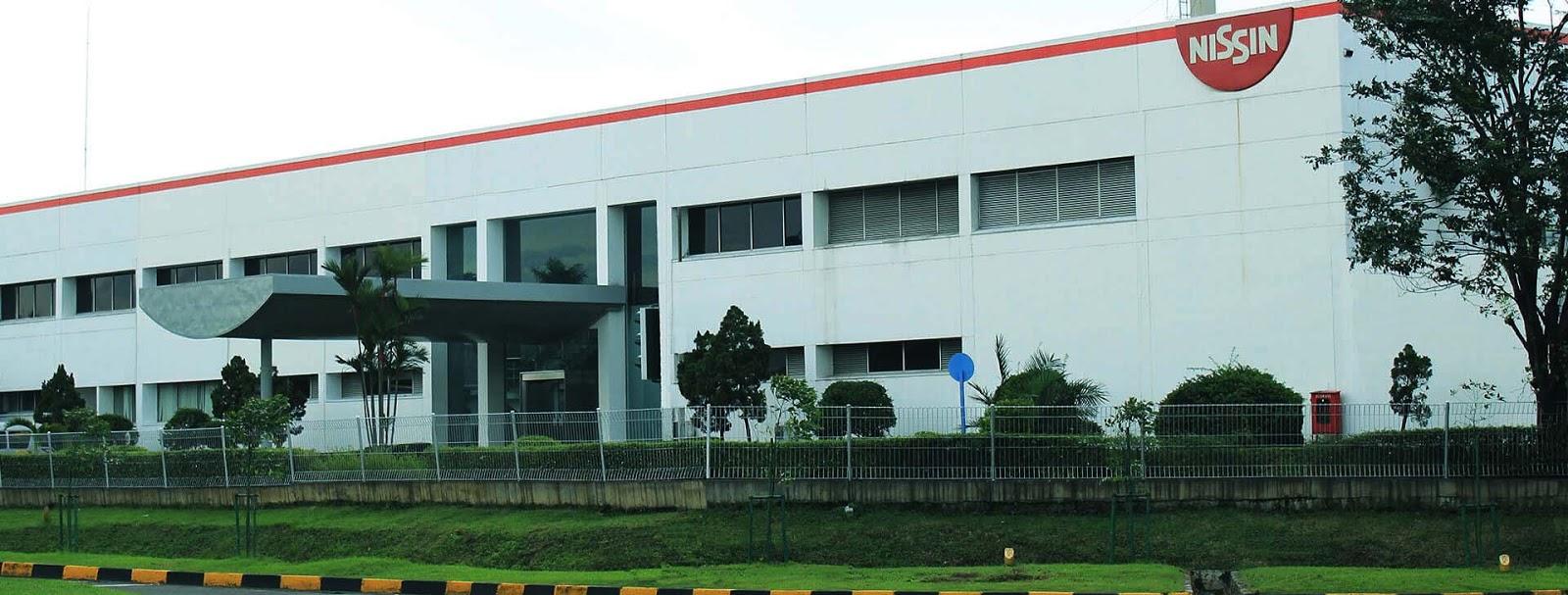 Loker Operator Produksi Pabrik Via Online di PT Nissin Food Indonesia Cikarang