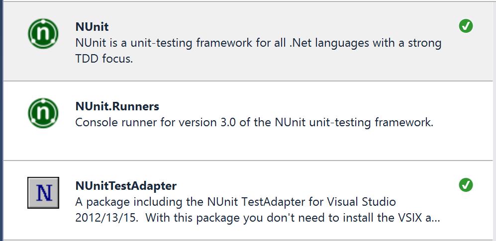Jeremy Bytes: Fixing an NUnit Version Mismatch