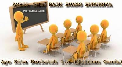 (Pilihan Ganda)Soal dan Pembahasan Matematika Membandingkan Bilangan Bulat Ayo Kita Berlatih 1.5 Kelas 7 Kurikulum 2013