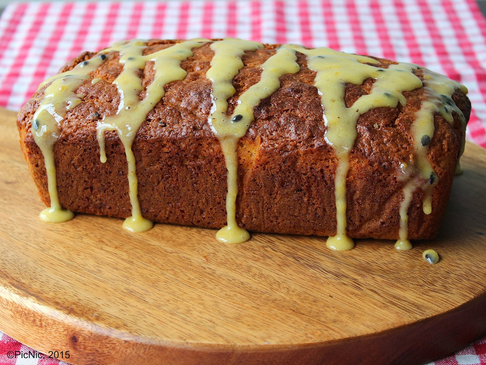 Coconut Passionfruit Loaf