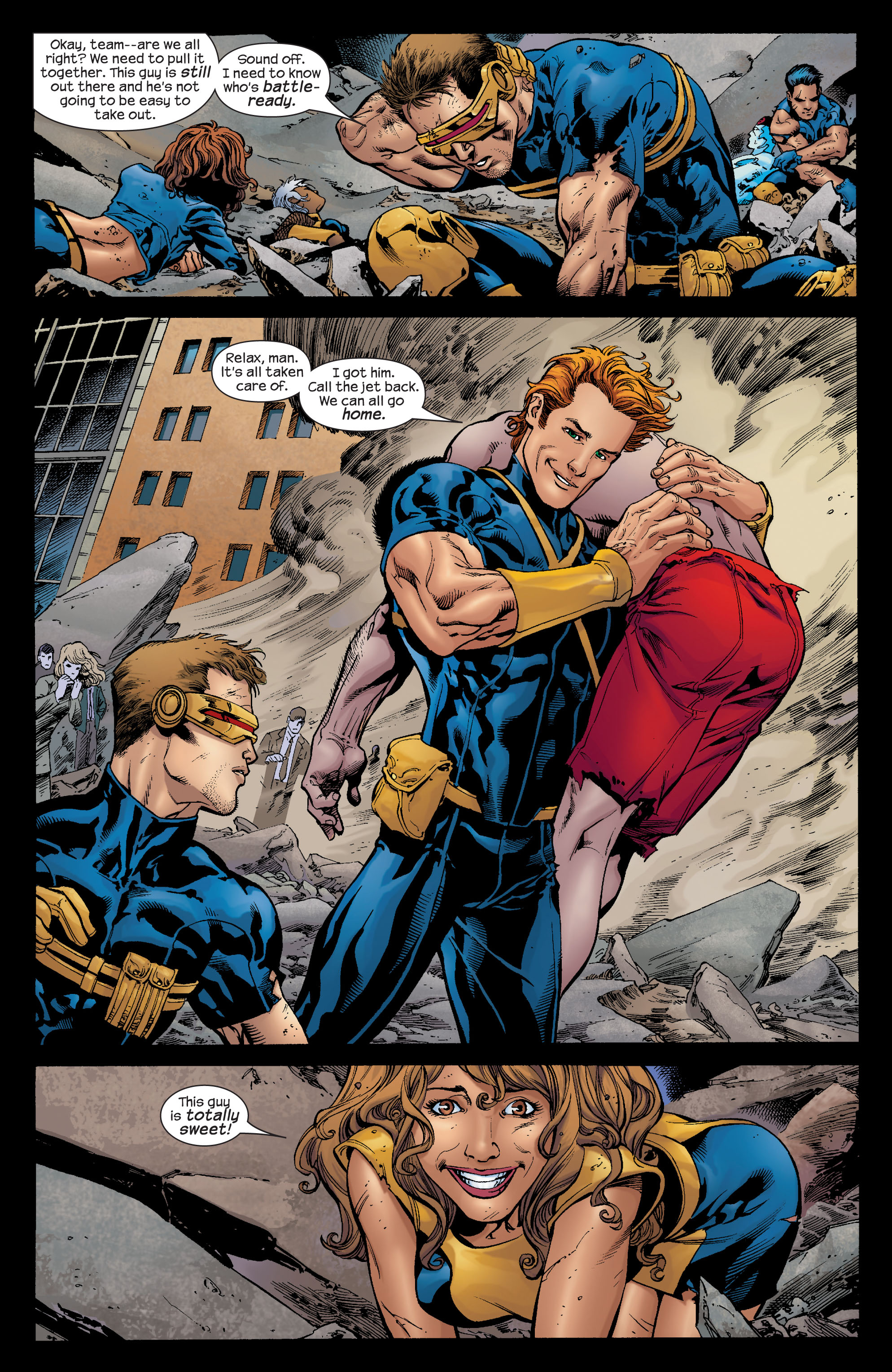 Read online Ultimate X-Men comic -  Issue #72 - 18