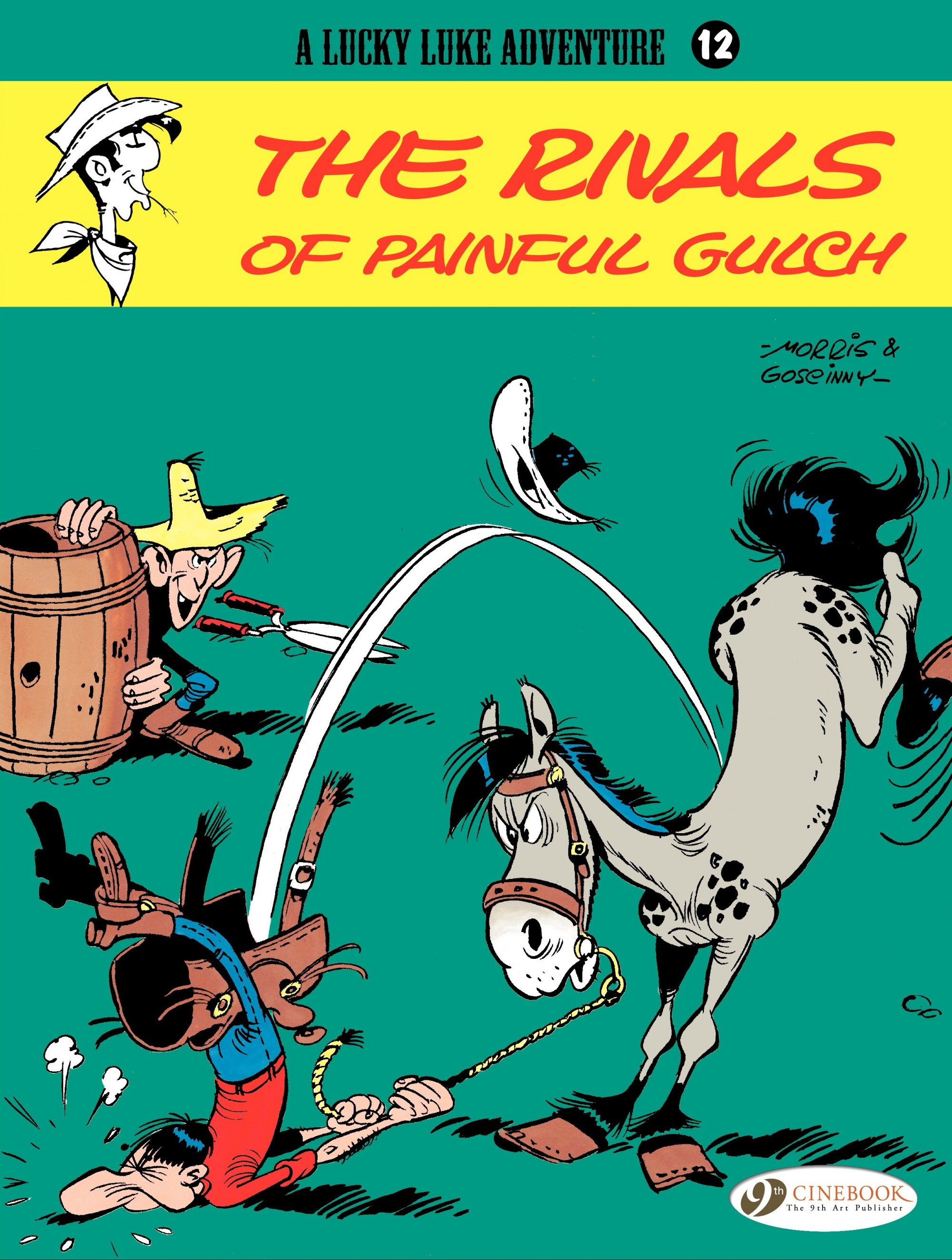 Read online A Lucky Luke Adventure comic -  Issue #12 - 1