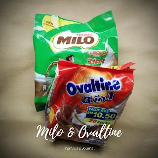 oleh oleh khas malaysia - MILO ovaltine