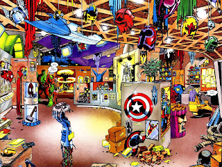 Superhero Memorabilia