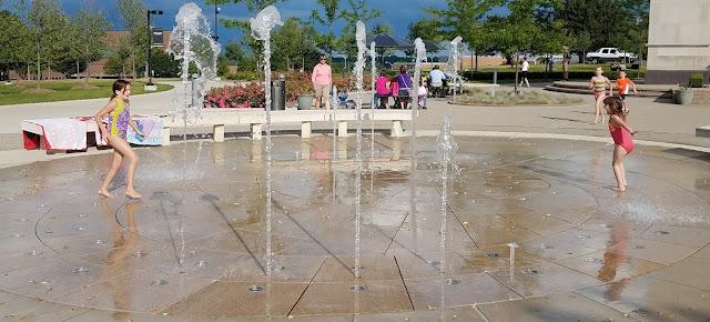 Elliot Tower Fountain