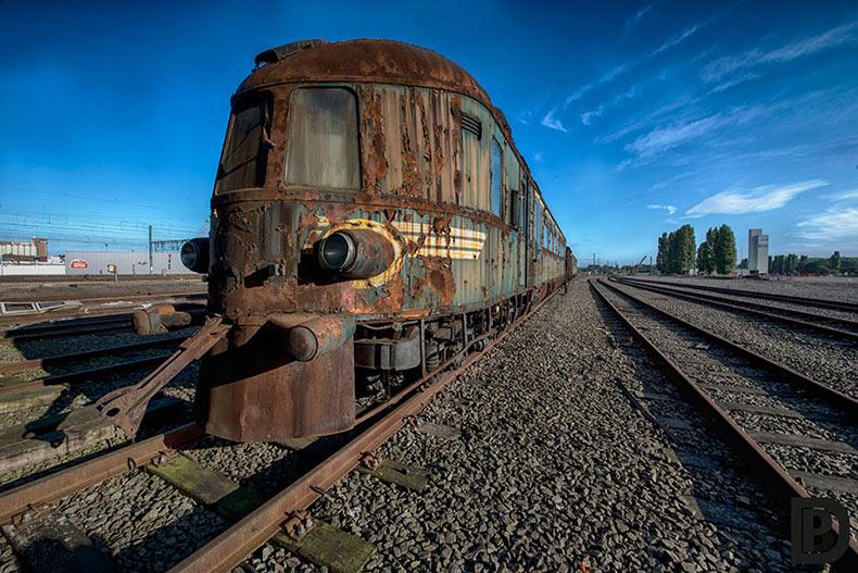 El abandonado tren Orient Express revela los viajes de lujo del pasado