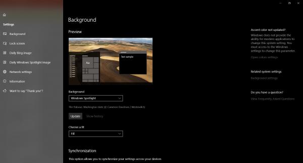 Tema Dinamis Windows 10