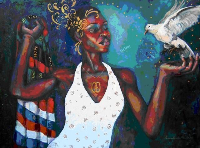 Яркое и жизнерадостное искусство. Tamara Natalie Madden 20
