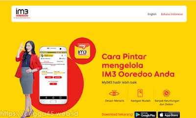 Cara Cek Kuota Indosat Menggunakan Website