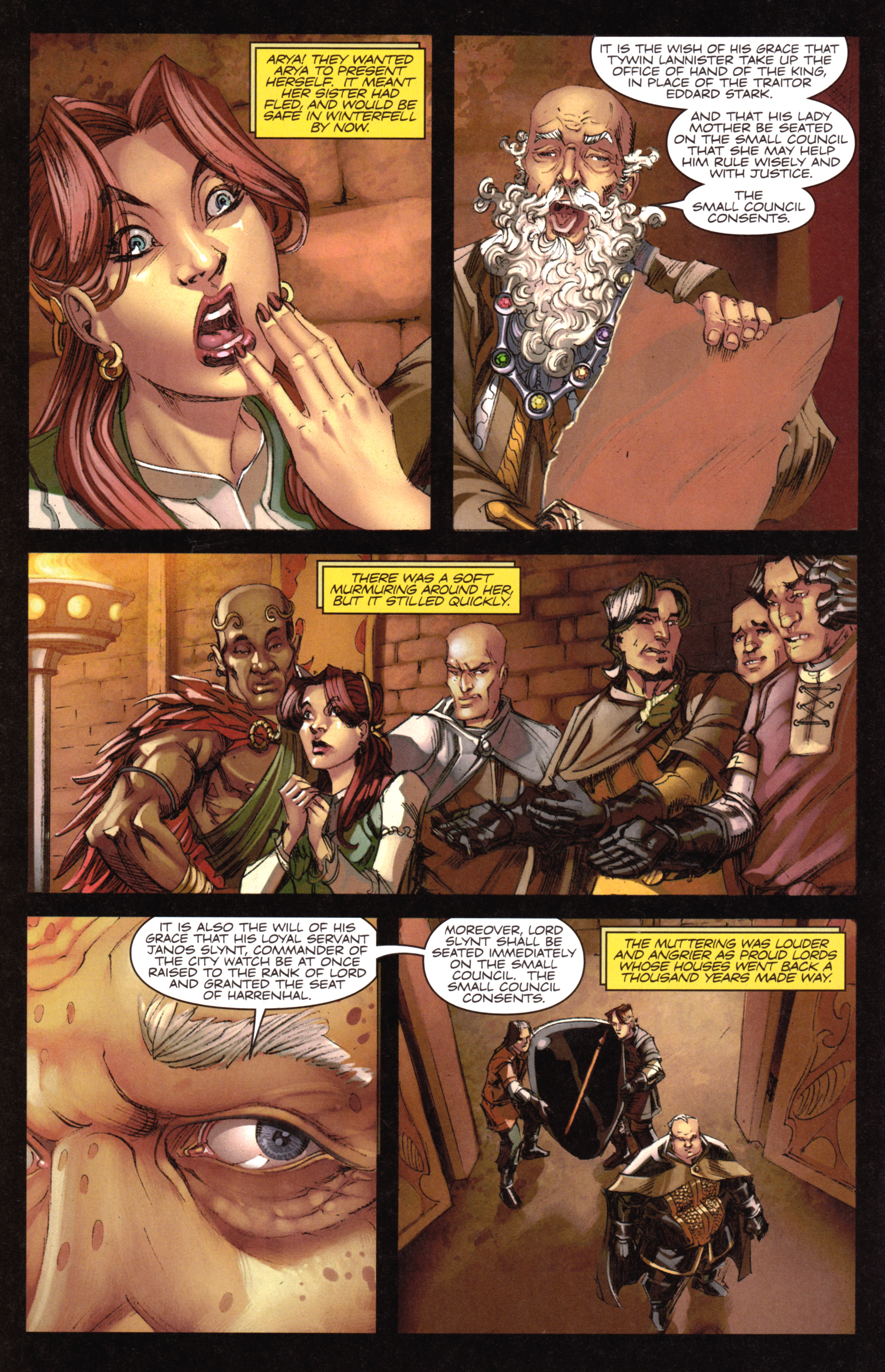 Read online A Game Of Thrones comic -  Issue #18 - 16