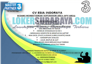 Lowongan Kerja di CV. Esia Indoraya (3) Surabaya Terbaru Mei 2019