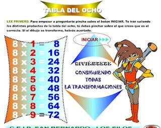 http://www.eltanquematematico.es/preguntatablas/ocho/ocho_p.html