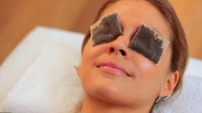 Tips Memutihkan Kulit Secara Alami : Facial Kantung Teh Hangat