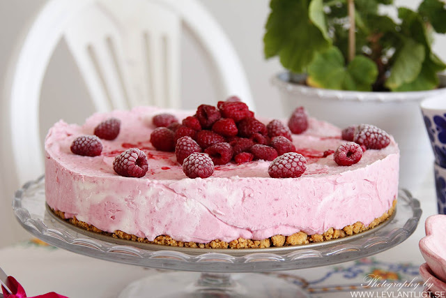 glass, maräng, tårta