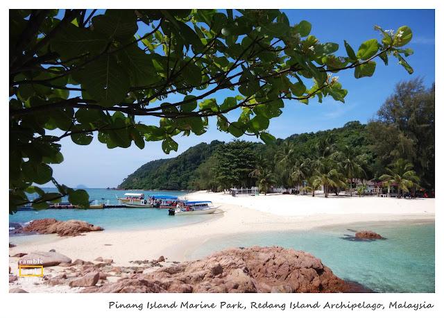 Pinang Island Marine Park, Redang Island | www.rambleandwander.com