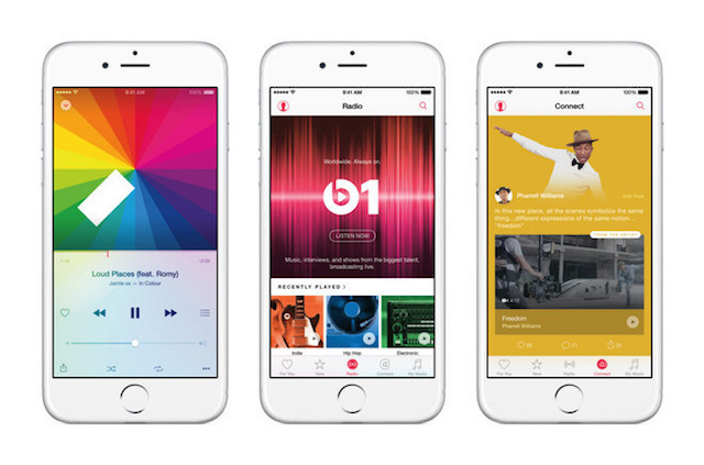 Apple-Music-pantallas Apple Music tosses the house out the window with a student discount Technology