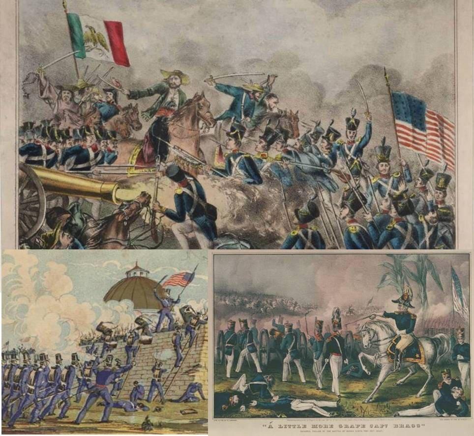Guerra De México Contra Estados Unidos, Resumen