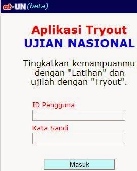 Tryout Ujian Nasional Online