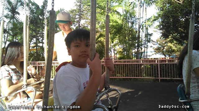 Charles at the Flying Fiesta, Enchanted Kingdom