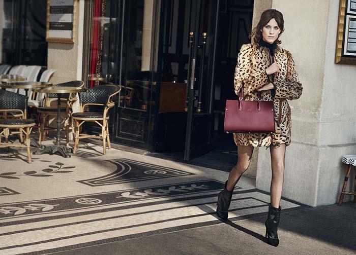Longchamp Fall/Winter 2016 Campaign stars Alexa Chung