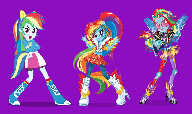 MLPEG Characters Rainbow Dash