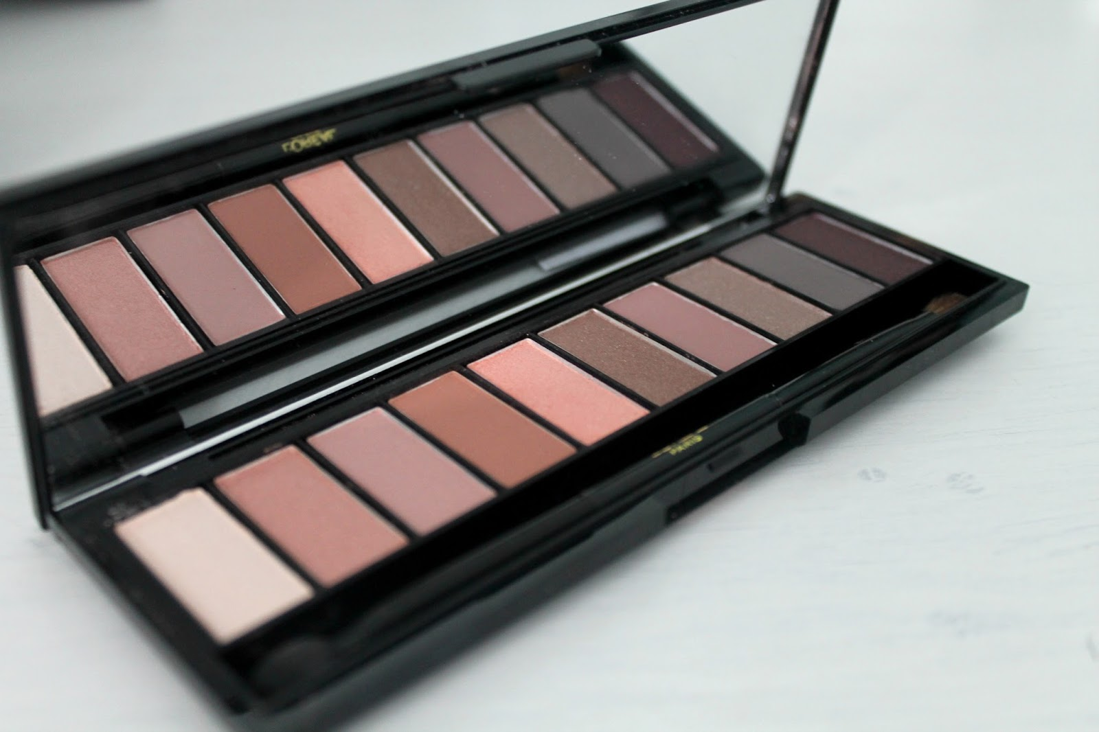 Review L'Oréal Paris La Palette Nude