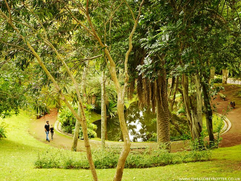 Jardim Antonio Borges Garden in Ponta Delgada