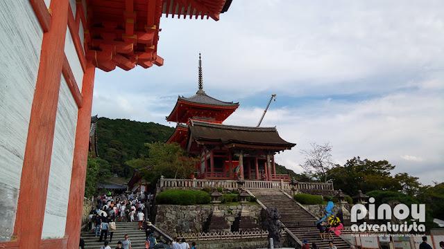 Kiyomizu-dera Temple in East Kyoto
